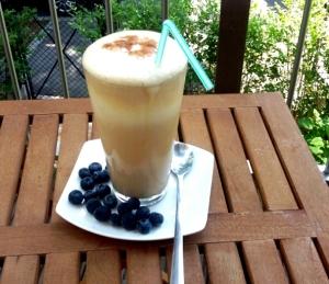 Gesunder Eiskaffee